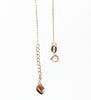. Over The Clouds gold sandalwood necklace