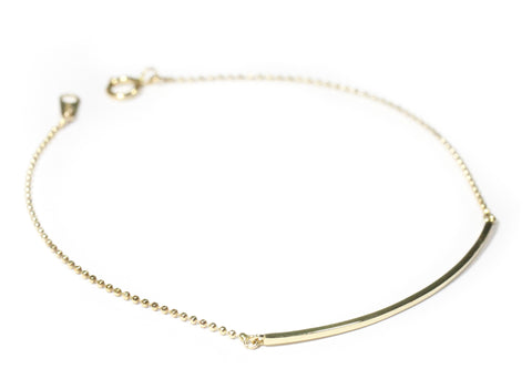 14K Solo Bracelet - MOVIDA