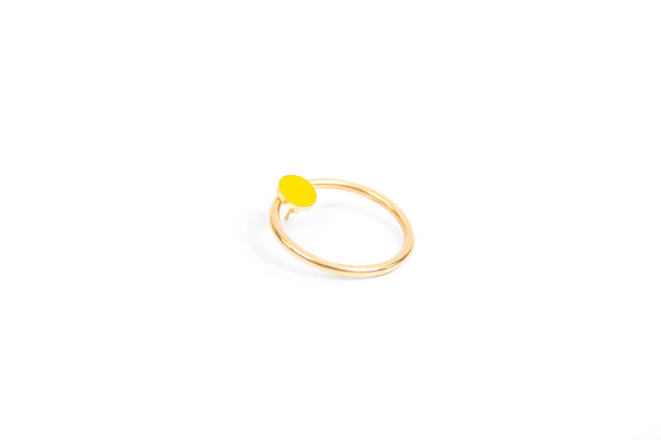 Kara Ring and Coin Earring - Petite