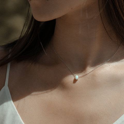 Lara Opal Necklace