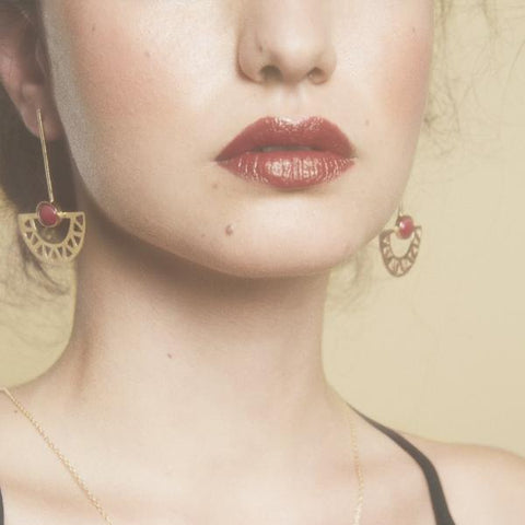 Egyptian Moon Earrings