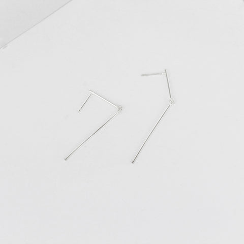 Broken Lines Earrings - MOVIDA