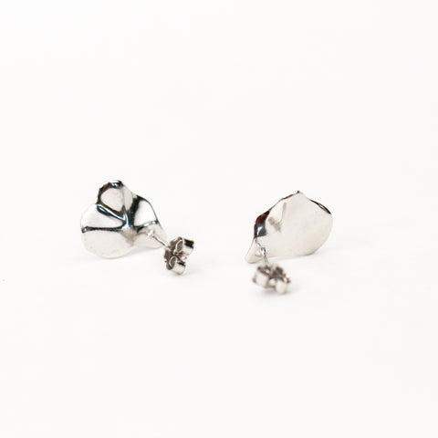 Free form Silver Studs