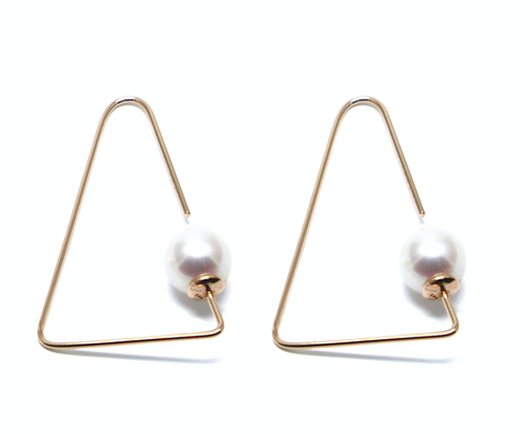 penrose pearl earrings goi jewelry independent designer jewelry movida