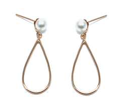 pear drop earrings goi jewelry independent designer jewelry movida