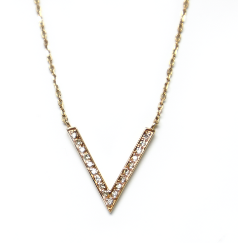 .Solasta gold necklace