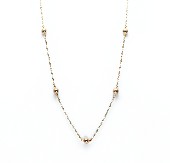 . Lagom gold necklace