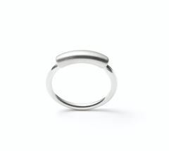 . Curved line ring