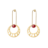 Egyptian Sun Earrings