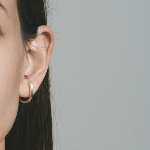 Minimal Lobe Earrings