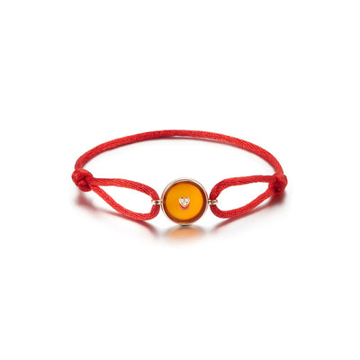 Lone Star Loop Bracelet - Red