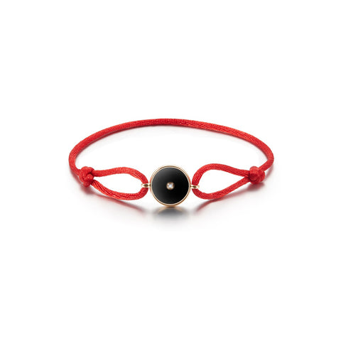 Lone Star Loop Bracelet - Black