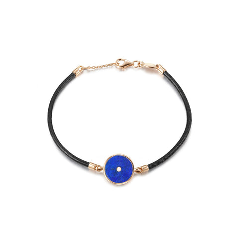 Lone Star String Bracelet - Blue