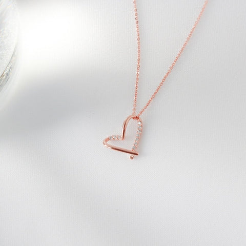 Cynthia Heart Necklace