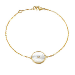 . Lone star mother-of-pearl bracelet