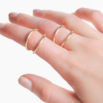 Double Arco Ring