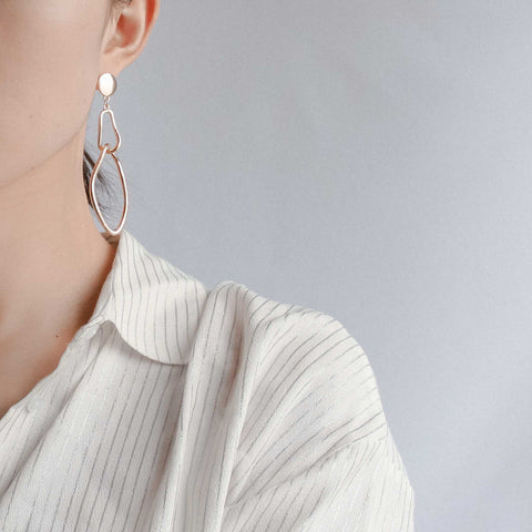 Aria Asymmetrical Earrings