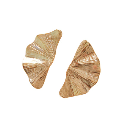 Short Ginko Earrings