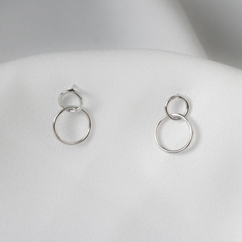 Remi Double Mini Hoops