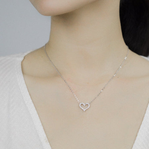 Aro Heart Necklace - MOVIDA
