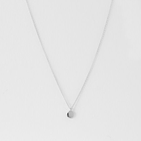 Mini Disc Necklace - MOVIDA