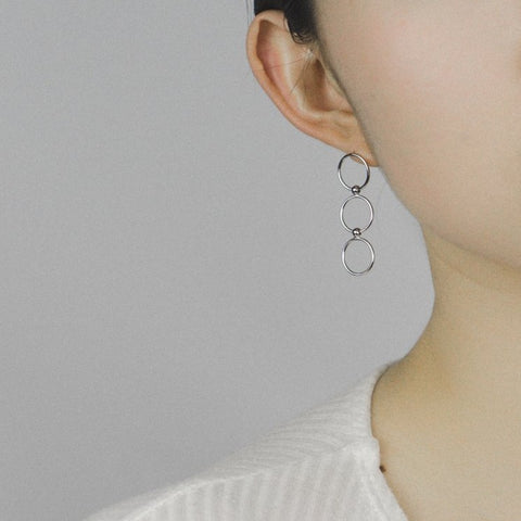 Trio Hoop Earrings - MOVIDA