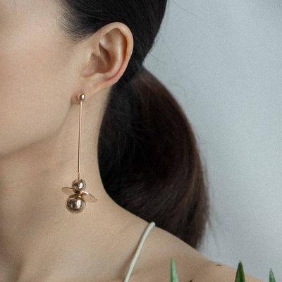 Planet Star Earrings - MOVIDA