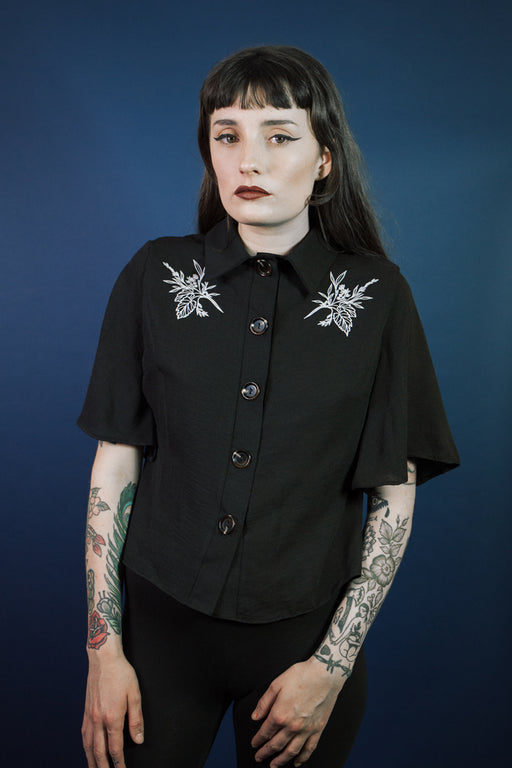 Botanica Shirt Black