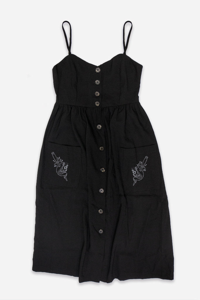 Lana Button Down Dress