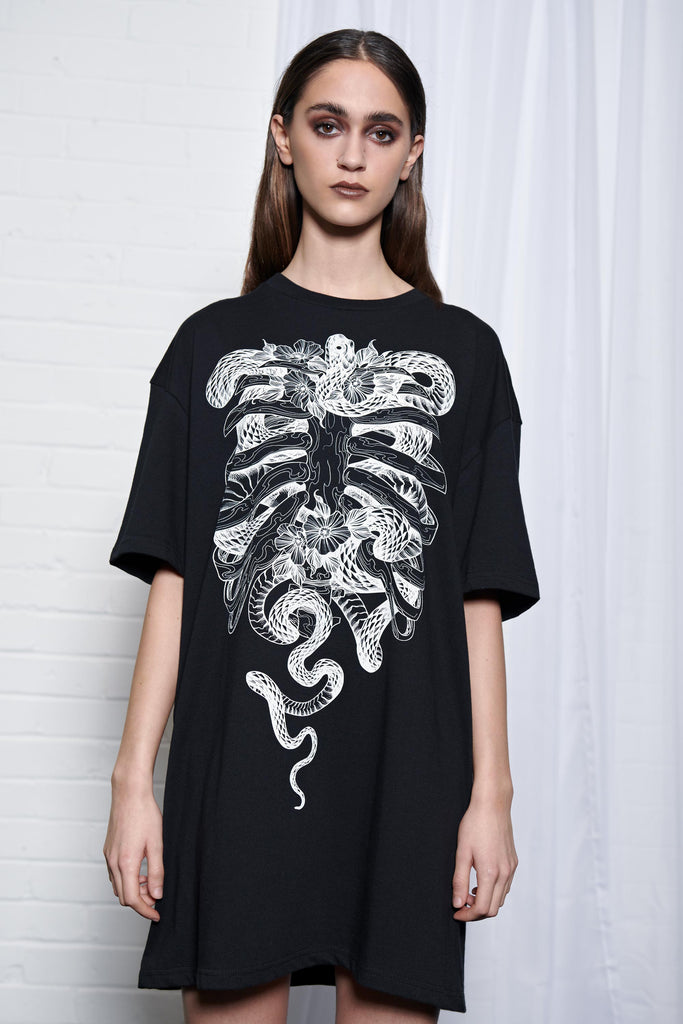 Skelenor Tee Dress