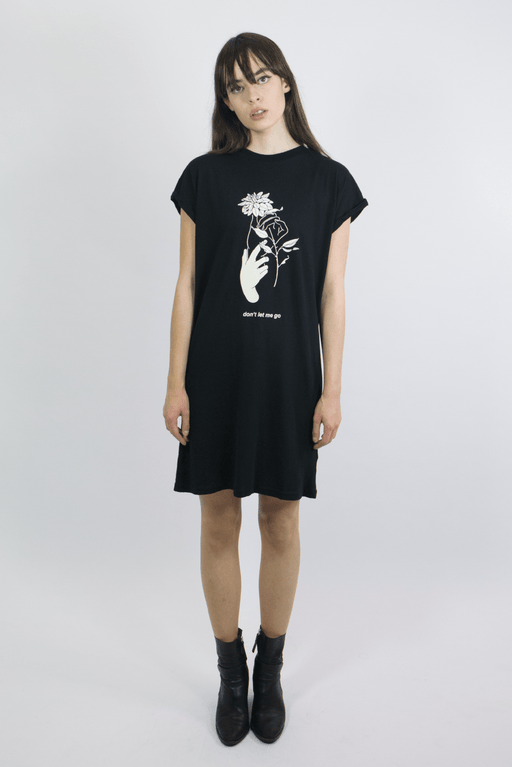 Black Dahlia TShirt Dress