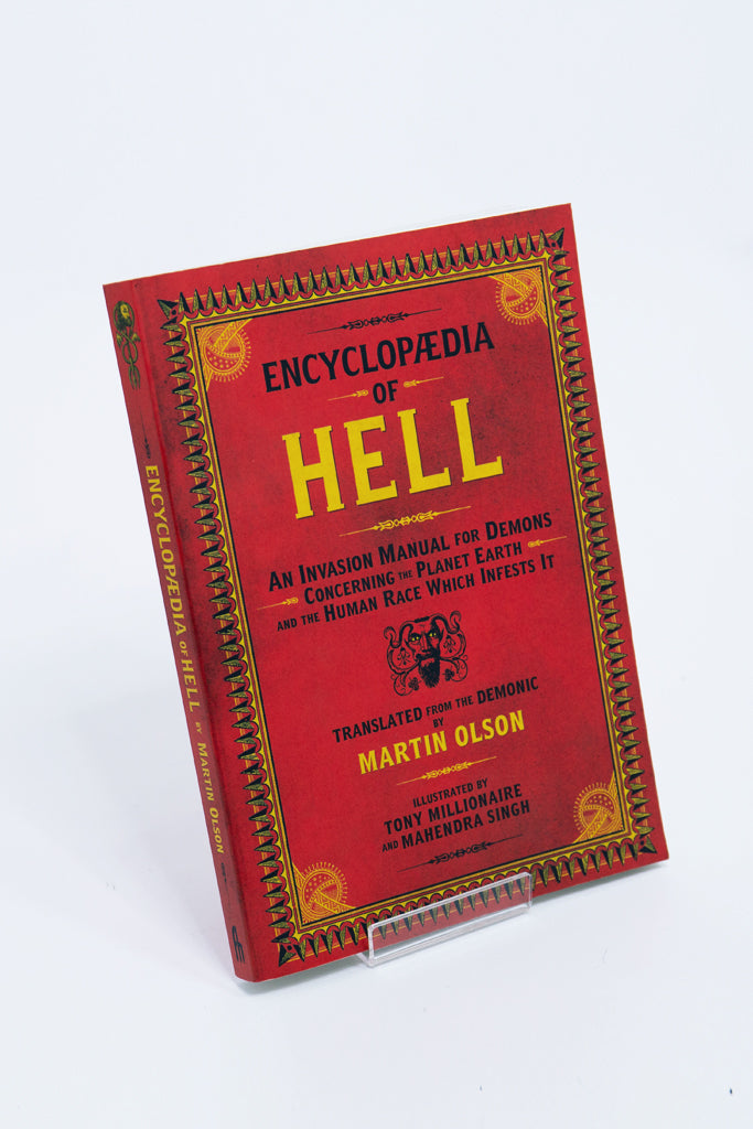 encyclopedia of hell book