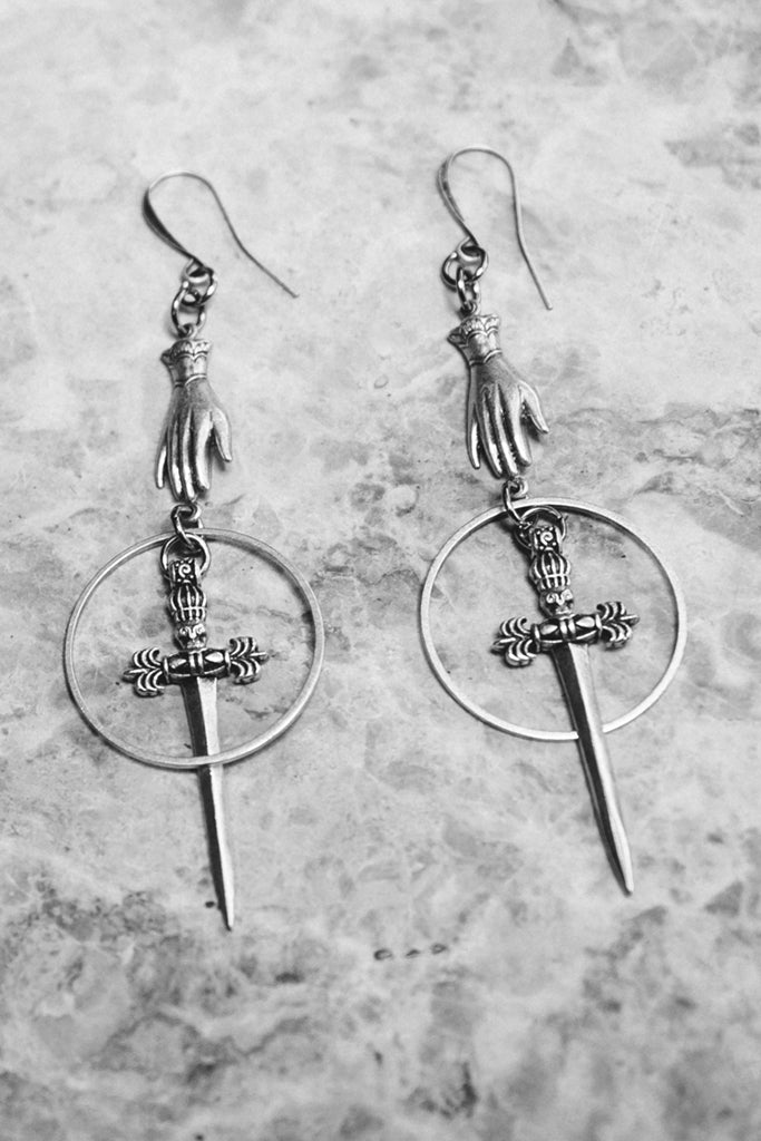 Phantom Dagger Earrings