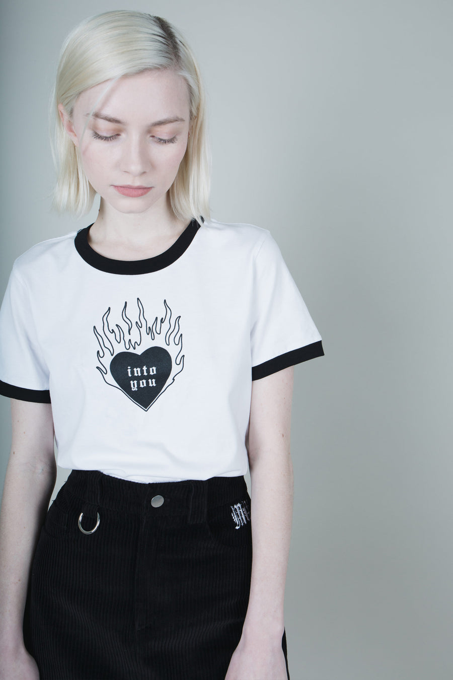 Into You Ringer Tee