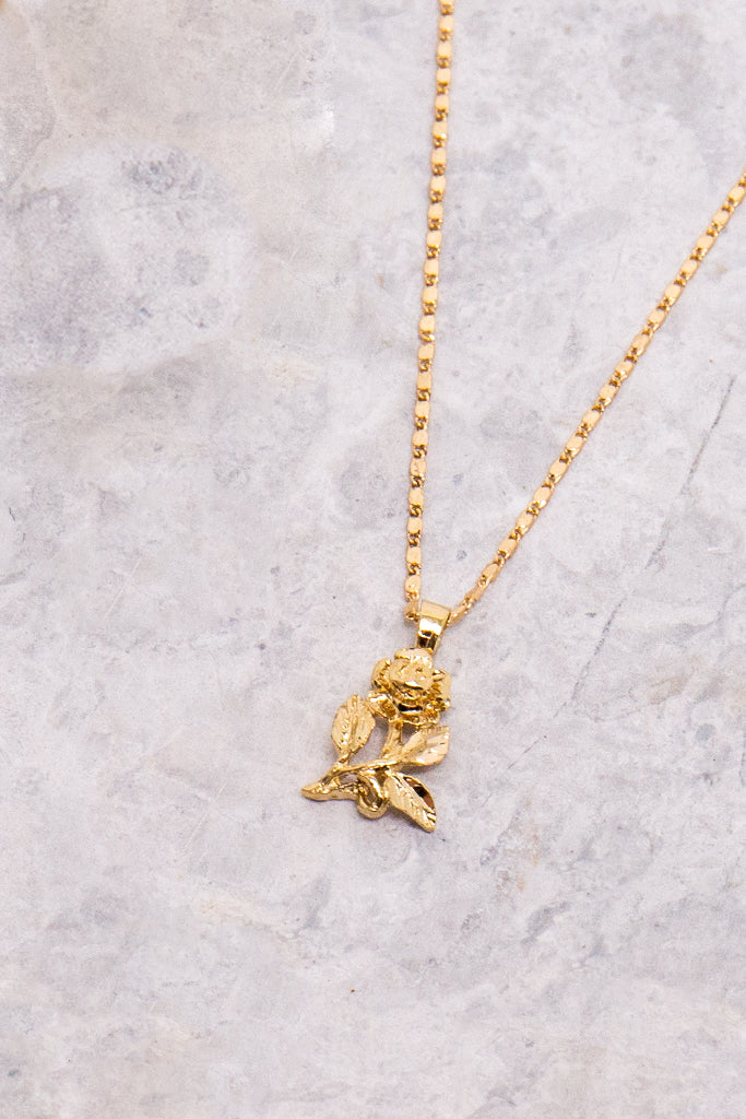 vanessa mooney rose gold necklace