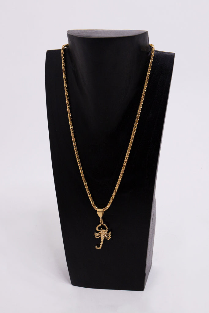 The Wyclef Scorpion Necklace
