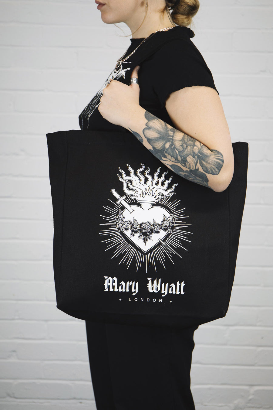 Sacred Canvas Tote