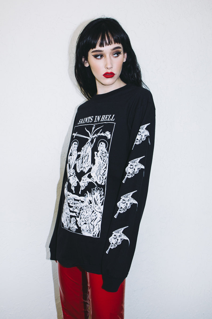Saints In Hell Black Long Sleeve