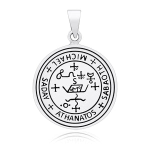 925 Sterling Silver Sigil of Archangel Saint Michael Pendant