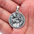 925 Sterling Silver Patron Saint Christopher Pendant