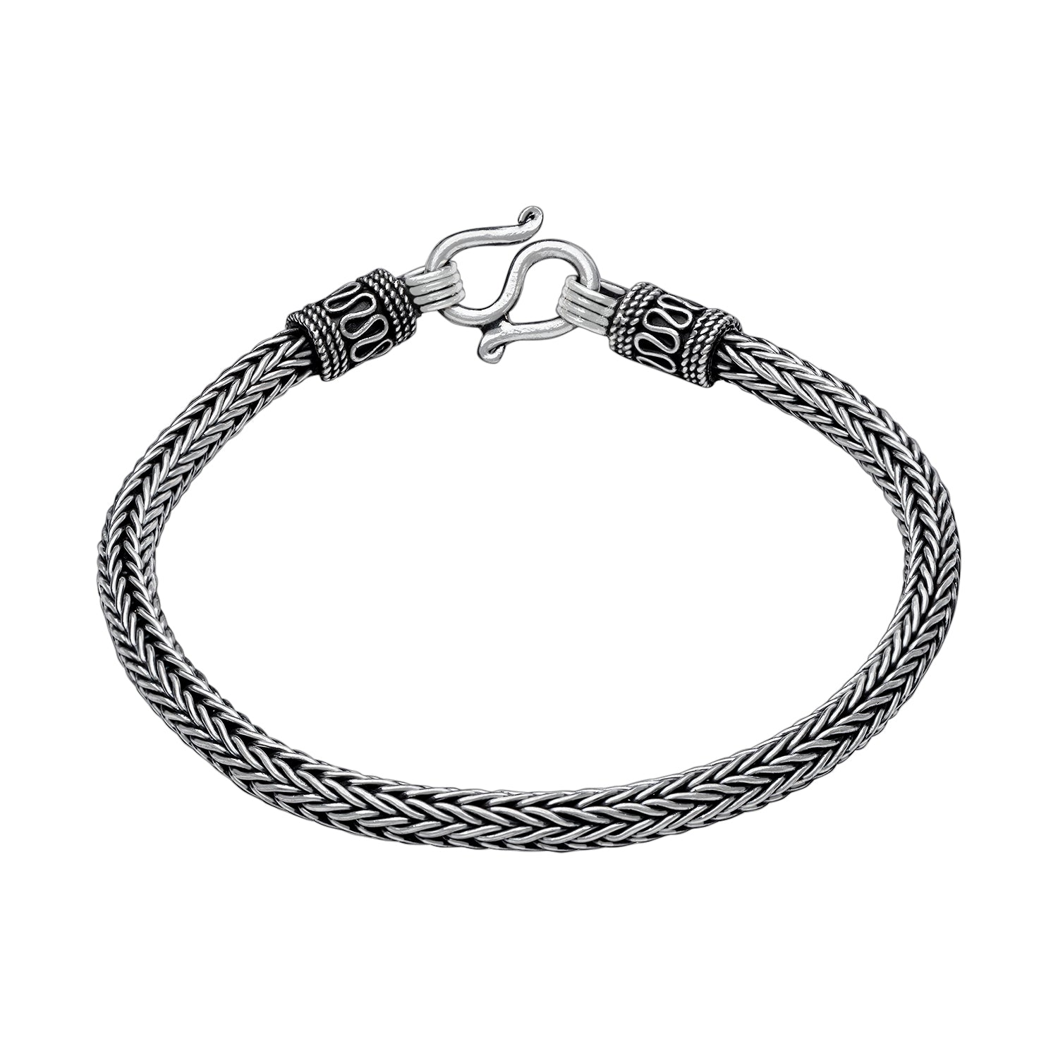 925 Sterling Silver Asgard King Bracelet for Men