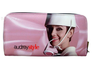 Audrey Hepburn Style Retro Credit Card Money Case ID Holder Wallet Purse - SilverMania925