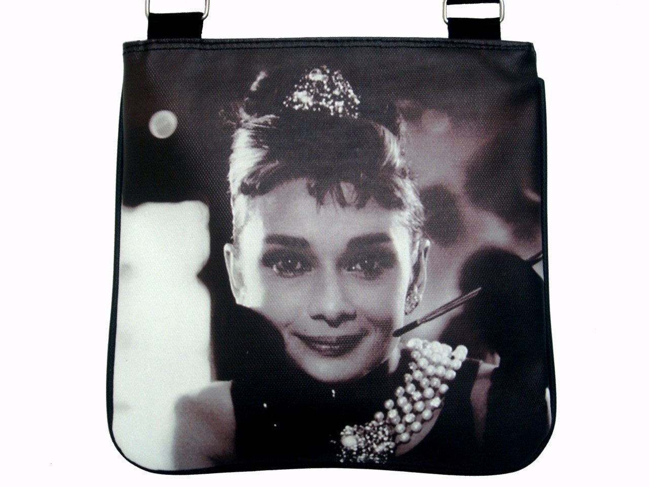 Audrey Hepburn Breakfast At Tiffany's Messenger Sling Bag Purse