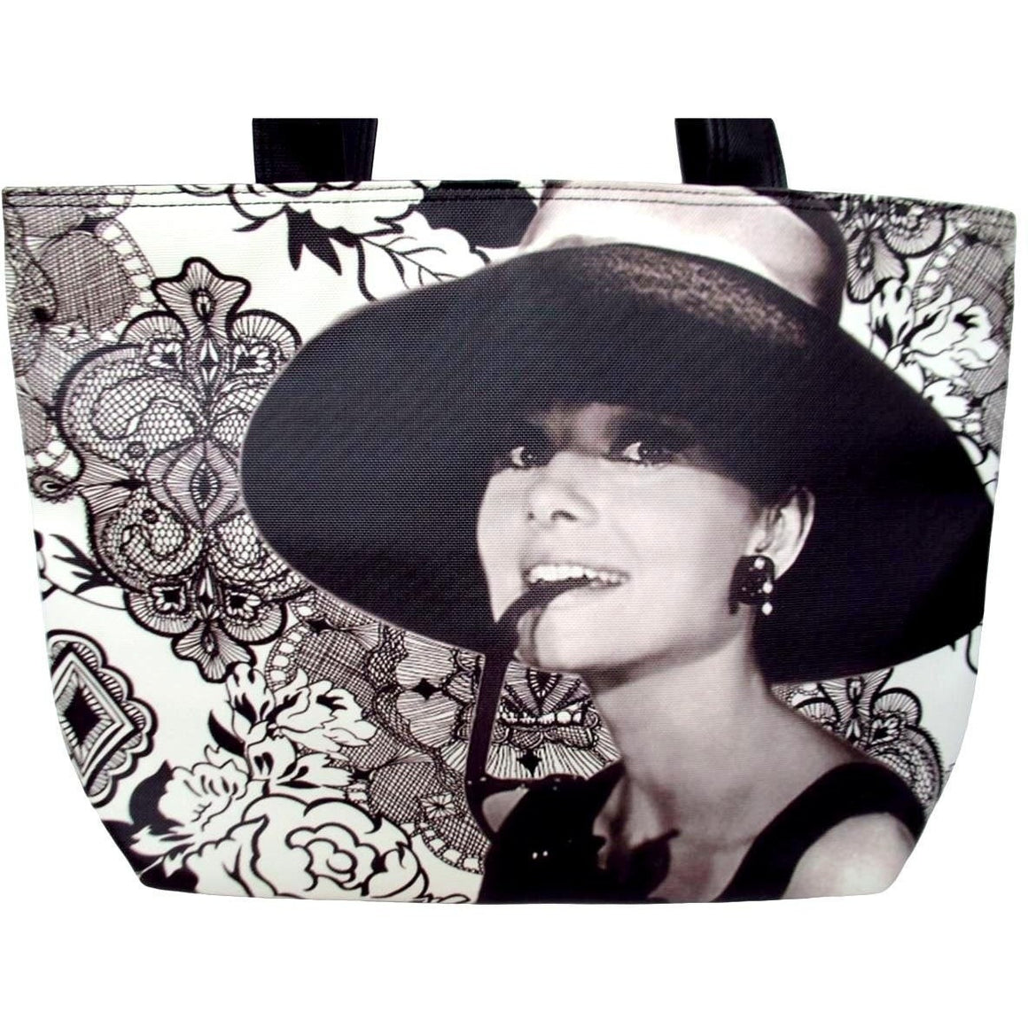 Audrey Hepburn Breakfast At Tiffany's Rare Shoulder Bag Purse - SilverMania925