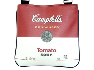 Campbells Soup Tomato Can Collectible Sling Cross Body Bag Purse - SilverMania925