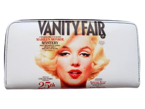 Marilyn Monroe Vanity Fair Front Cover Credit Card Money ID Holder Wallet - SilverMania925