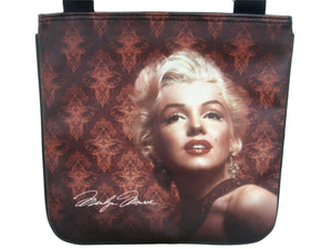Marilyn Monroe Filigree Style Rare Messenger Sling Bag Purse