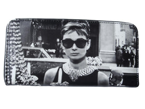 Audrey Hepburn Classic Credit Card Money Case ID Holder Wallet Purse Bag