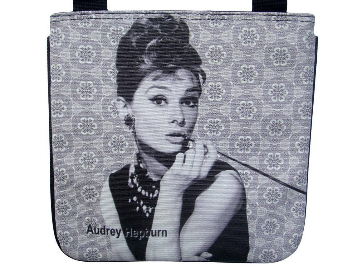 Audrey Hepburn Breakfast at Tiffany's Messenger Cross Body Sling Bag Purse