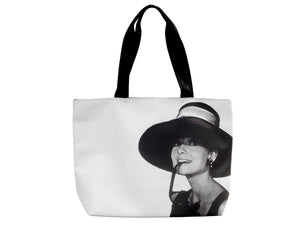 Audrey Hepburn Rare Retro Classic Cinema Bag Purse Handbag - SilverMania925
